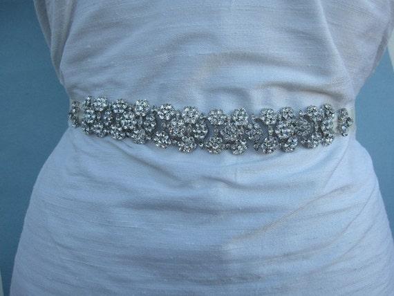 Wedding sashes and belts Wedding belts rhinestones Bridal