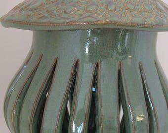 Slab Built  Pottery Lantern