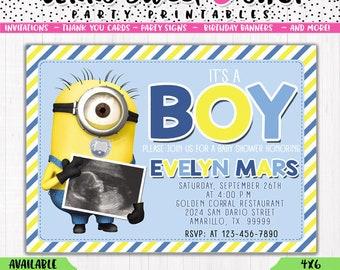 Minion Baby Shower | Etsy