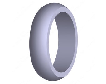Women's Silicone Wedding Band Engagement Ring Sky Blue Best Quality Hypoallergenic Cute Athletic Active Wear Womans Jewelry FREE SHIPPING
