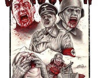 Dead Snow 2009 Zombie - A3 Print