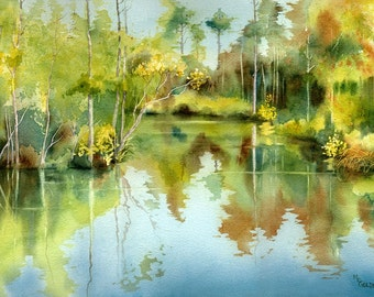 Tranquil Waters giclee print