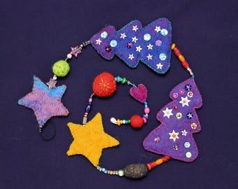 Magical Christmas Garland-enchanting Christmas garland L05