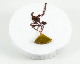Gold pendant necklace etsy aloadofball Gallery