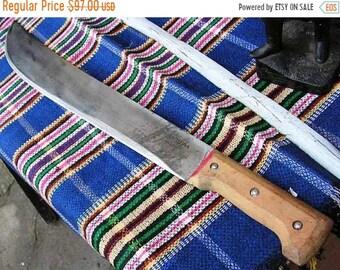 Vintage, A serious big knife, Very, very old, a souvenir knife, huge knife, brazilian knife,machete,Тramontinа, Big knife