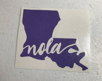 NOLA decal