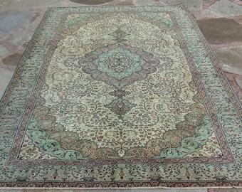 6 by 9 rug, Large Vintage Rug, Large Oushak Rug, Large Turkish Rug, Large Area Rug, Large Boho Rug, Oushak Rug, Large Rug, Oversize Rug