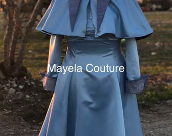 Child size Inspired by Harry Potter Beauxbaton- Fleur Delacour Dress Costume Cosplay