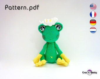 Pattern - Lily the Frog