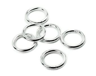 A soldered 10x1.5 AC0123 PK684 mm 925 Silver ring