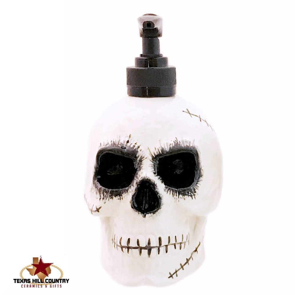 Keramik Skull Seife Spender gruseligen Zombie Halloween Skull