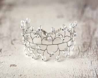 Bridal bracelet silver Crystal bridal bracelet Twigs bracelet Vine jewelry,Wedding jewelry,Bracelet bride,Bridesmaid gift Womens bracelet 61