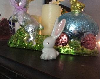Plichta London England hallmarked vintage bunny rabbit 1950-60 era Bunny Rabbit figurine