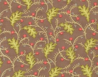 Moda -Honeysweet by Fig Tree Quilts. Ginger Vine 20213-17 Hazel **Half Yard Cuts**
