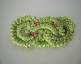 Crochet Barrette