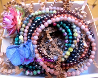Crystal Bracelets, Healing Crystals And Stones Jewelry, Supportive, Protection, Gemstone Jewelry