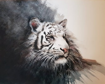 SECOND WHITE TIGER