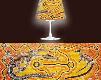 Wine Glass Lantern