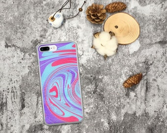 iPhone 5 Case, iPhone 5s Case, iPhone SE Case, iPhone 6/6s Case, iPhone 6 Plus/6s Plus Case, iPhone 7 Case, Purple iPhone 5 Case Abstract