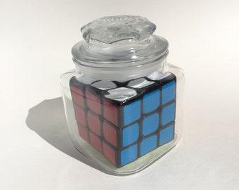 Impossible Bottle - Rubik's Cube in Candy Jar