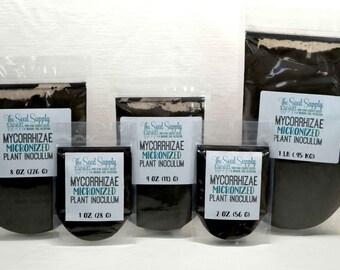 1 pound Endo/Ecto Mycorrhizae Plant Inoculum - Beneficial Endo Mycorrhizal Fungi - Organic Fertilizer - Root Growth
