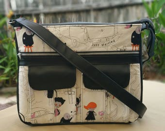 Zombie Love Sydney Crossbody Messenger Bag
