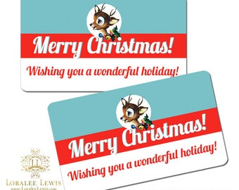 Reindeer Games Small Favor Tags by Loralee Lewis