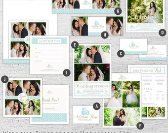 Wedding Photography Marketing Set, Photography Marketing Kit, Photography Marketing Kit, Photography Marketing Package, Wedding Photography
