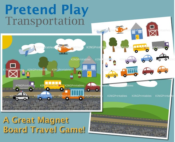 Toddler Pretend Play Transportation Theme Educational Gifts