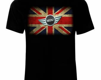 Mini Cooper Logo Men's Printed T-shirt