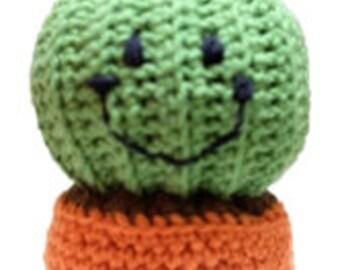 Benny the Barrel Cactus crochet PlantPals