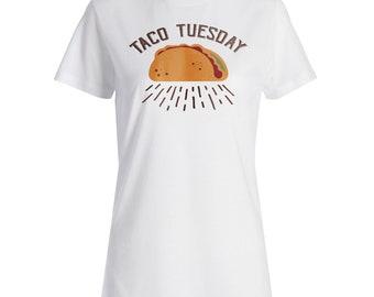 Taco Tuesday Ladies T-shirt s267f