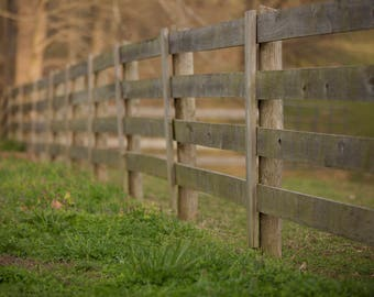 Set of 4 Farm Fence Line Outdoor Digital Background / Digital Backdrop / Overlay