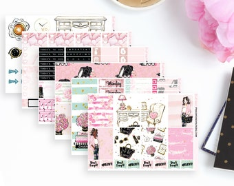 Girl Boss Weekly Planner Sticker Kit   116 Stickers
