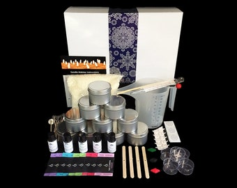 Xmas Soy Candle Making Kit- Everything you need! Great Gift Idea