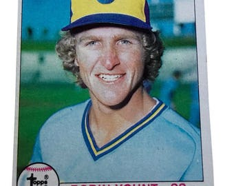 1979 Topps Robin Yount Milwaukee Brewers #95 Baseball Card