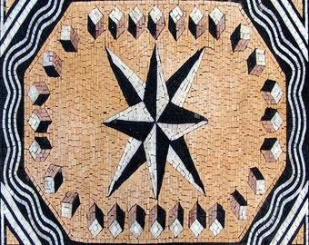 Geometric Mosaic Area Rug - Vento