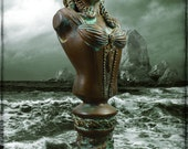 Lady of Innsmouth - Cthulhu Mythos Sculpture in Cold Cast Bronze