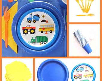 Cobalt Blue Lunch Plates   Blue Party Supplies   Kids Birthday Party Supplies  sc 1 st  Etsy & Cobalt blue plate   Etsy