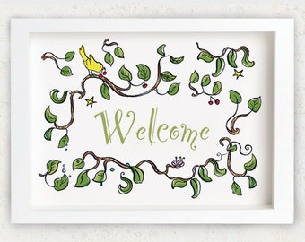 """Welcome Sign 