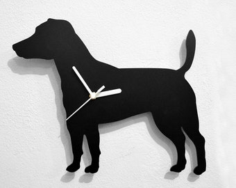 Jack Russel Terrier Dog - Wall Clock