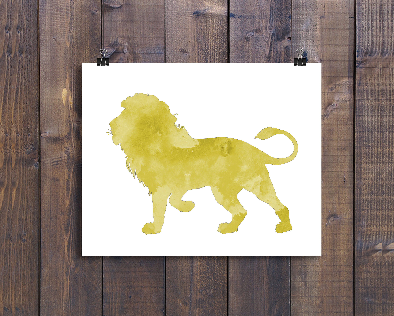 Lion nursery decor Toddler art boy Nursery print Nursery