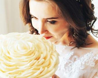 TWINKLING WHITE | Bridal hair vine wedding accessory bridal headpiece bridal tiara