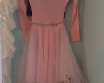 Vintage Ballerina Upcycled Fairytale Fantasy