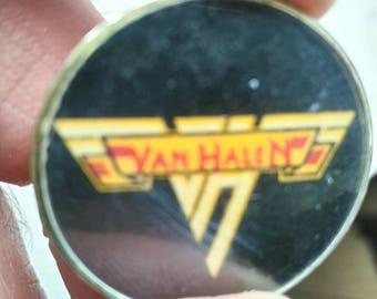 Van halen, Crystal pin, vintage 80s.