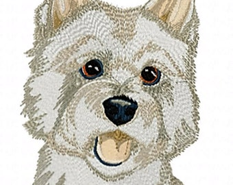 WESTIE - Machine Embroidery Design - Dog Pet