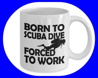 Scuba Diver Gift - Scuba Diving - Scuba Diver - Gift for Scuba Diver - Scuba Diver Art - Scuba Diving Mug