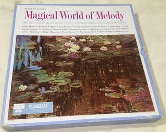 Magical World Of Melody. 20 of the World Most Popular Composers. 10 LP Vinyl box set