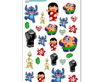 Lilo and Stitch Stickers - Disney Planner Stickers