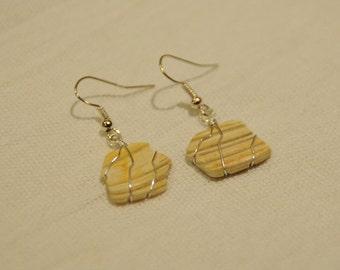 Seashell Earrings, Shell Earrings, BeachWear, Beach Earrings, Hippy Earrings, Boho Earrings, Festival, Mermaid Earrings, Handmade Earrings